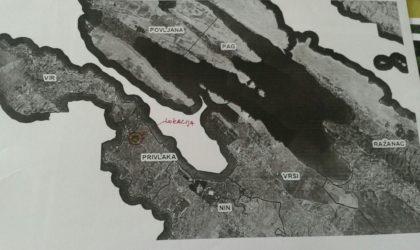 PRIVLAKA: Građevinsko zemljište u mjestu Privlaka, naselje Gaj, površine 1000 m, vl.1/1 ► Na upit