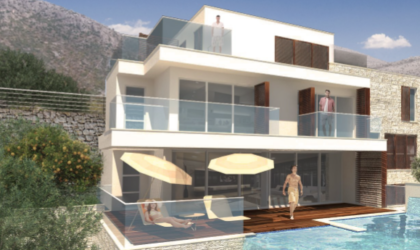 BRSEČINE KOD DUBROVNIKA: Prodaje se kamena kuća s okućnicom te gotov projekt s dozvolama, pogled na more