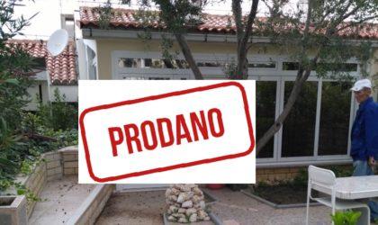 GAJAC Prodaje se apartman 57 m2 s velikim vrtom, PRVI RED DO MORA! ► 110.000 €