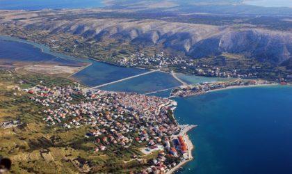 GRAD PAG: Građevinsko zemljište 982 m2, atraktivna lokacija, blizina mora, pogled ► 65.000 €