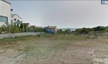 ZADAR/VIDIKOVAC  Građevinsko zemljište veličine 630 m2 s pogledom na more ► 140 €/m2