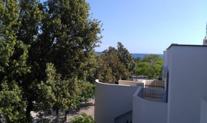 GAJAC 2-sobni apartman 45 m2 potpuno uređen, pet minuta hoda od plaže, zona A ► 89.000 €