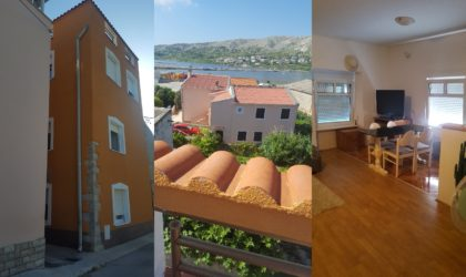 GRAD PAG Kuća, dvokatnica 132 m2 u samom centru grada, terasa, pogled ► 95.000 €