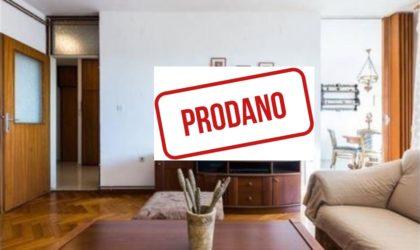 ZADAR/BULEVAR 3-sobni stan 90 m2 s liftom, blizu plaže Kolovare  ► 149.000 €