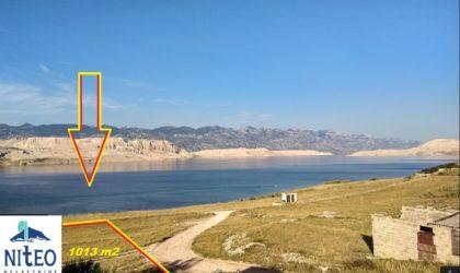 KOLAN/SV.MARKO Građevinsko zemljište 1.013 m2, pogled na more, blizu plaže Sv. Marko ► 90.000 €