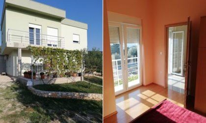 KOLAN Kuća 213 m2 s tri apartmana, velikom okućnicom punom zelenila i garažom ► 280.000 €