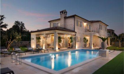 BARAT/KANFANAR Četiri luksuzne vile s bazenima u idiličnom okružju Istre, mir i privatnost ► Na upit