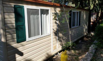 NOVALJA Prodaje se mobilna kućica 24 m2 u kampu Straško ► 24.070 €